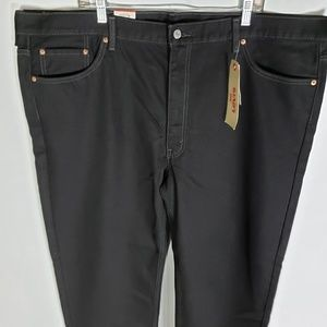 LEVIS 550 Black Jeans Size 46x30 Relaxed Fit